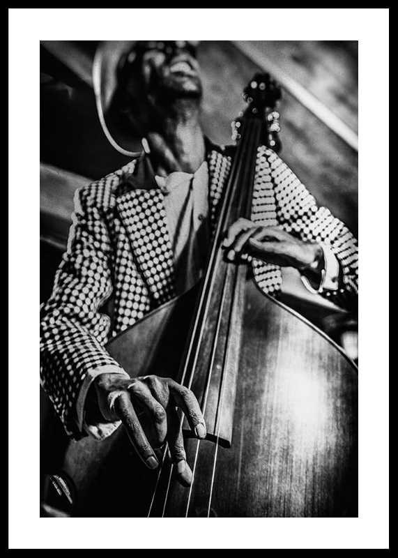Musician On Bass