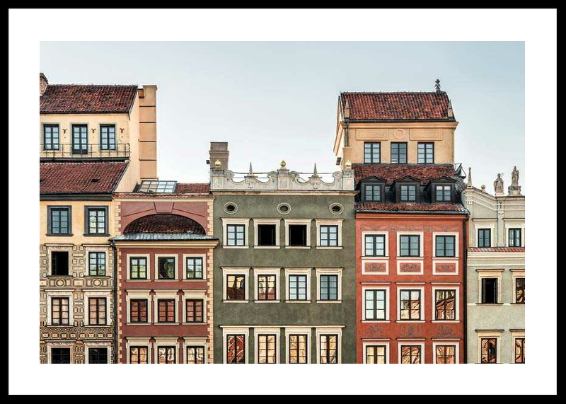 Town Houses In Warsaw