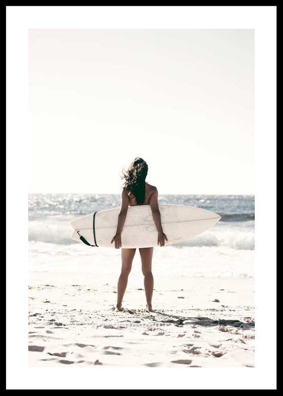 Surfer On Beach-0