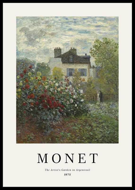 Monet Garden In Argenteuil-0