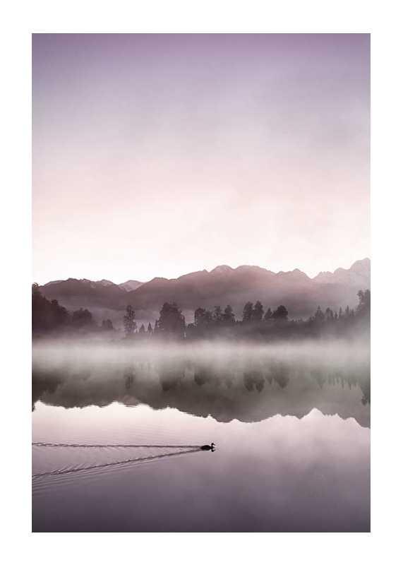 Southern Alps At Dawn-1