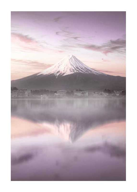 Mount Fuji At Sunrise-1
