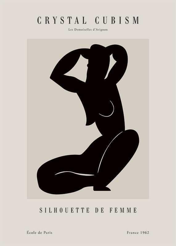 Picasso Femme Du Cubisme-1
