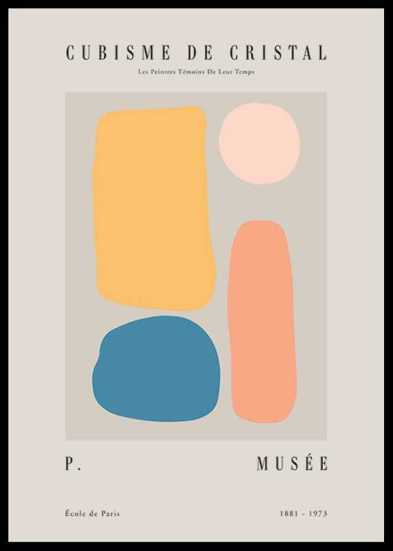 Picasso Quatre Cubisme-0