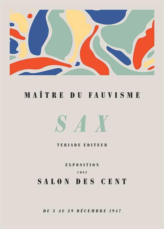 Matisse Exposition Sax-1