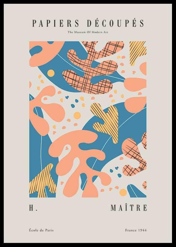 Matisse Papiers Decoupes No4