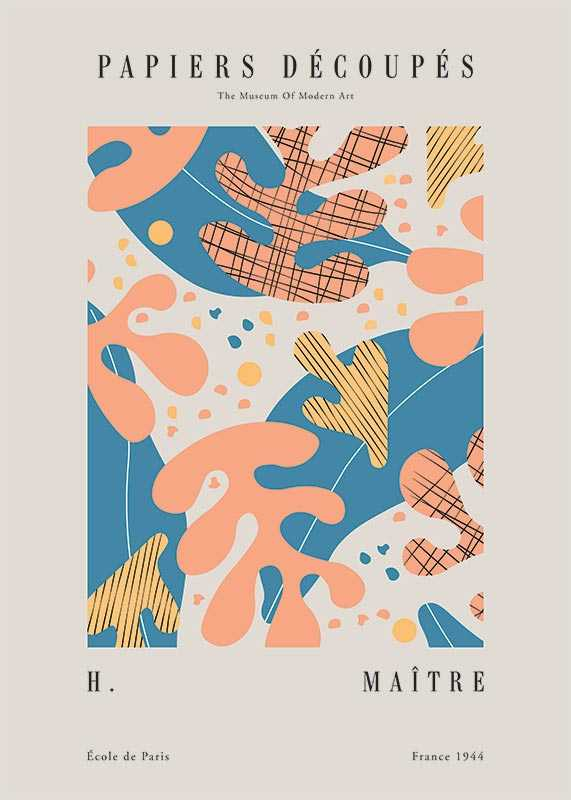 Matisse Papiers Decoupes No4-1