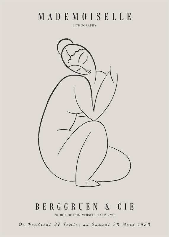 Picasso Mademoiselle No2-1