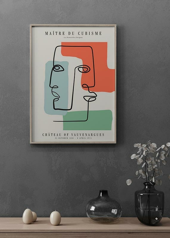 Picasso Maitre Du Cubisme No2-2