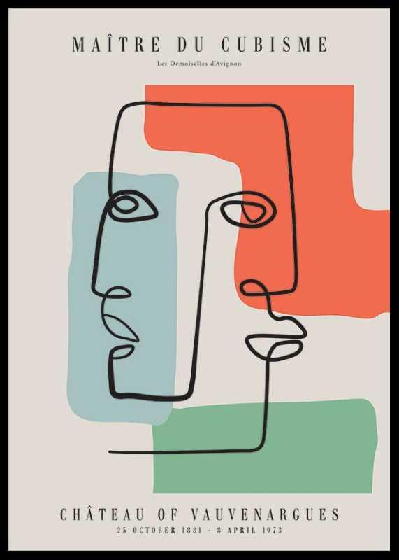 Picasso Maitre Du Cubisme No2-0