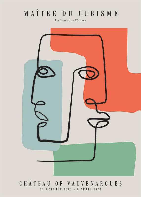 Picasso Maitre Du Cubisme No2-1