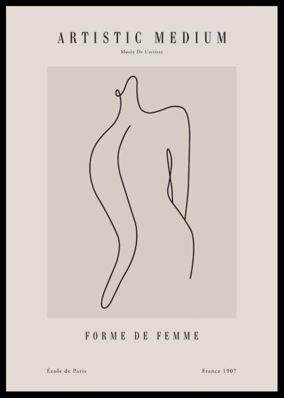 Picasso Forme femme