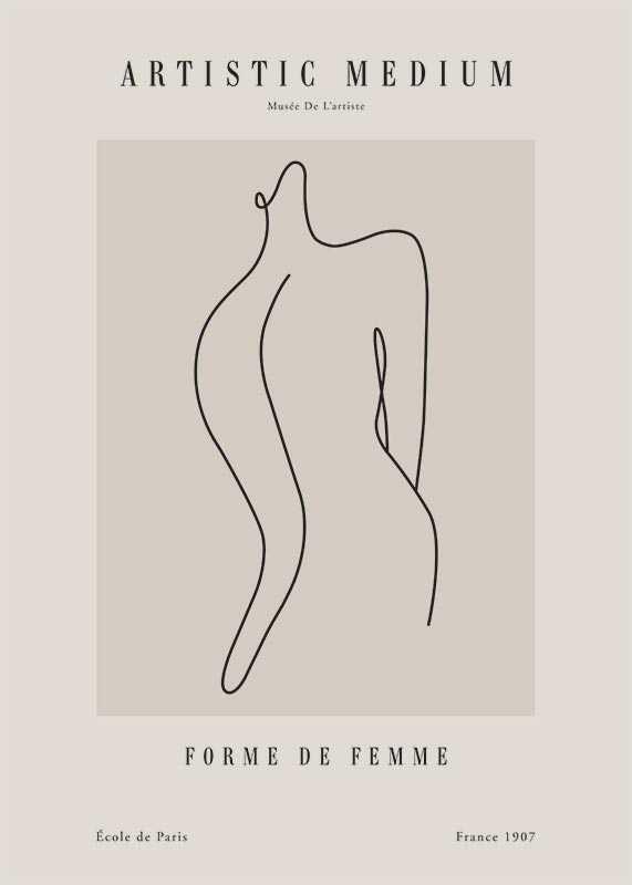 Picasso Forme femme-1