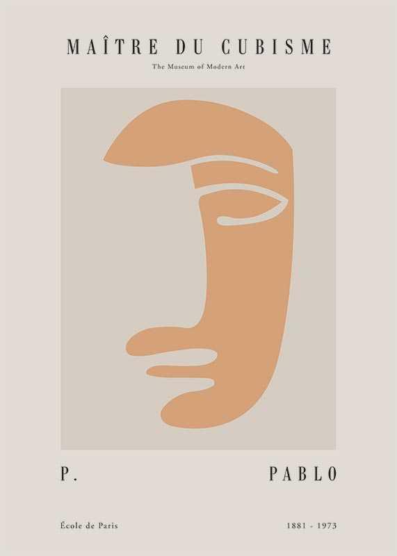 Picasso Maitre Du Cubisme No3-1