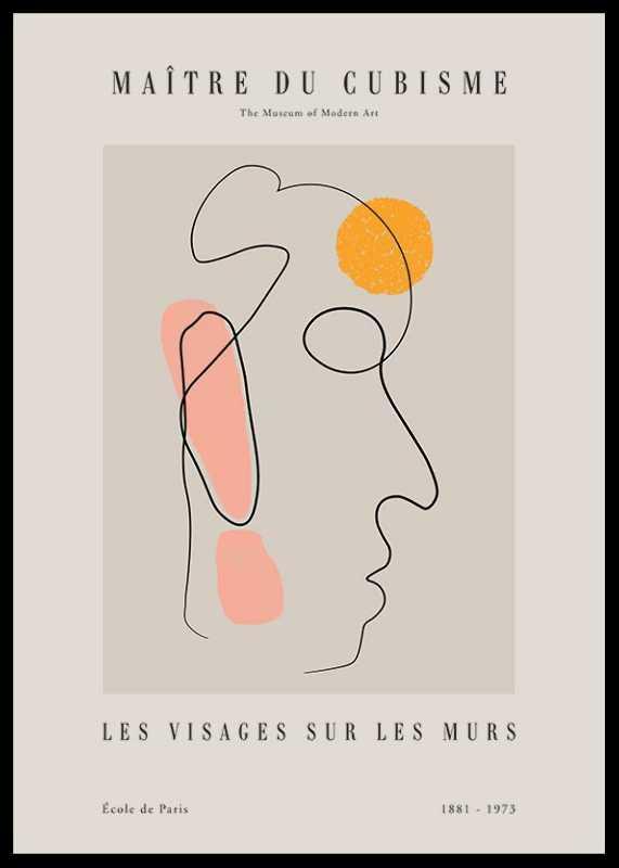 Picasso Maitre Du Cubisme No4-0