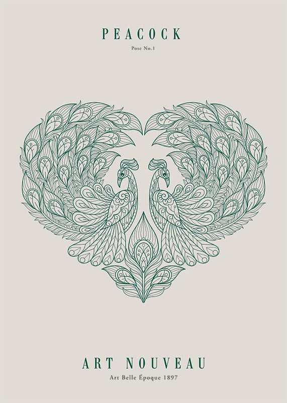 Art Nouveau No2-1