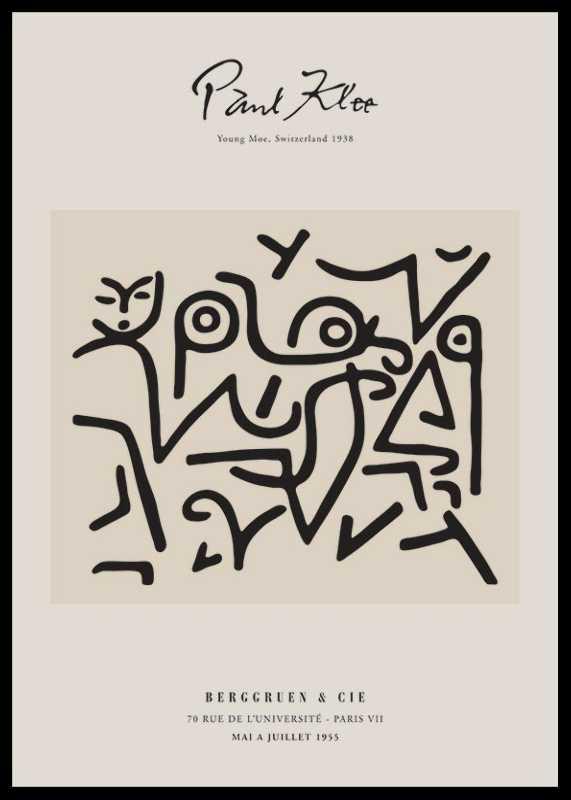 Paul Klee Young Moe-0