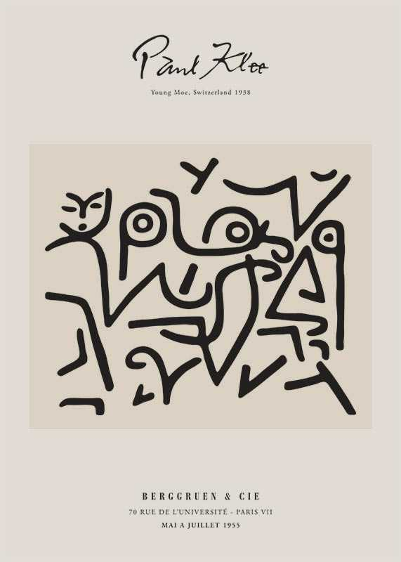 Paul Klee Young Moe-1