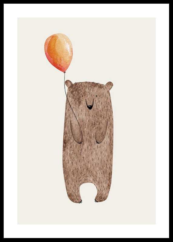 Bear With Balloon-0