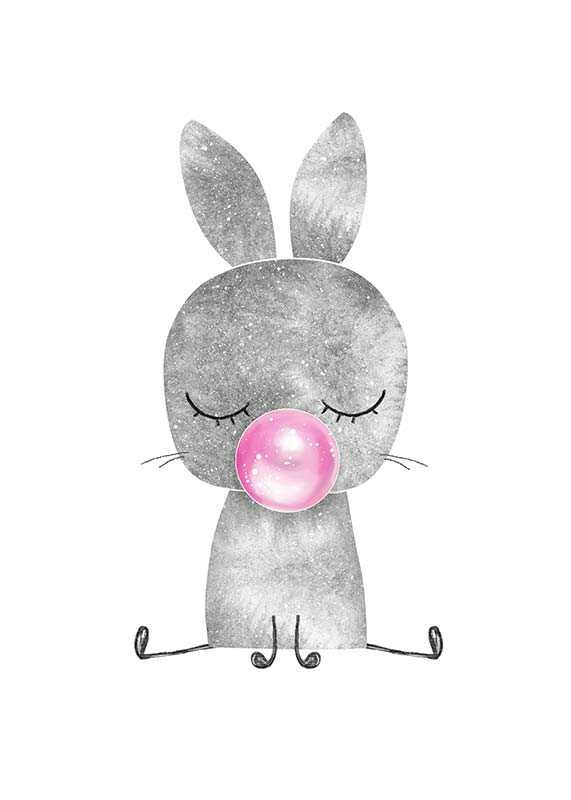 Bubblegum Rabbit-1