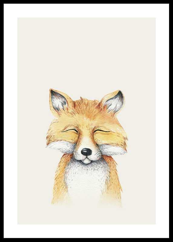 Peekaboo Fox