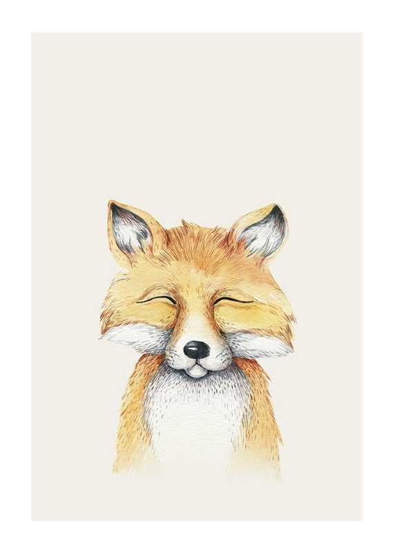 Peekaboo Fox-1