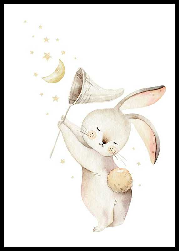 Bunny Catching Stars