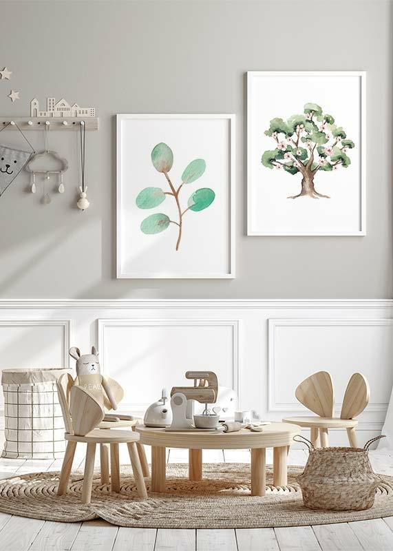 Watercolor Branch-2