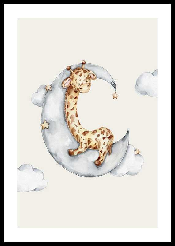 Sleeping Giraffe-0