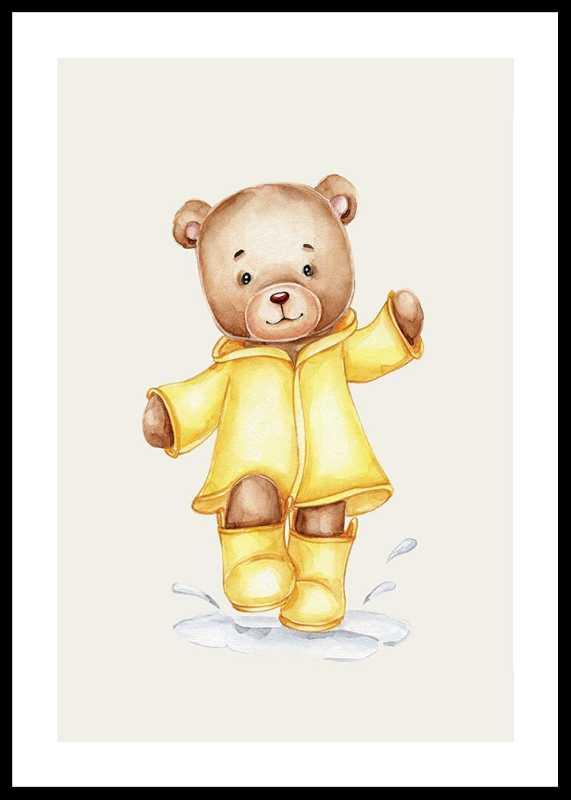 Raincoat Teddy-0