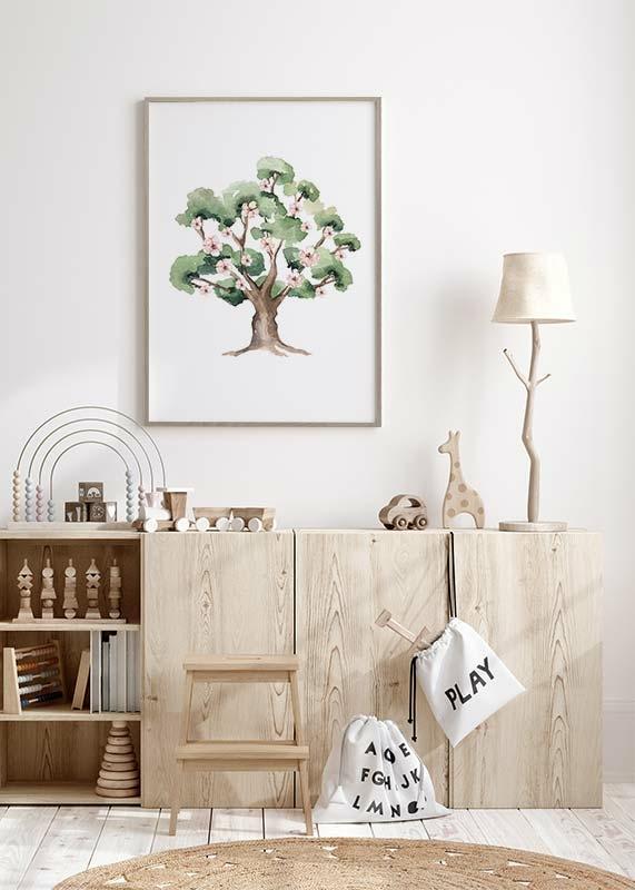 Painted Tree No1-2