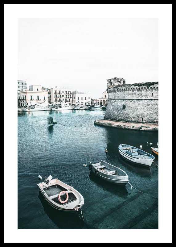 Boats In Puglia