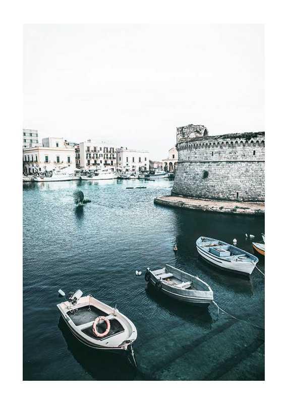 Boats In Puglia-1