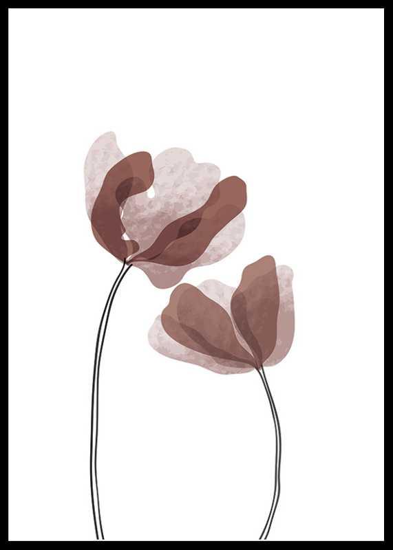Watercolor Flowers No1