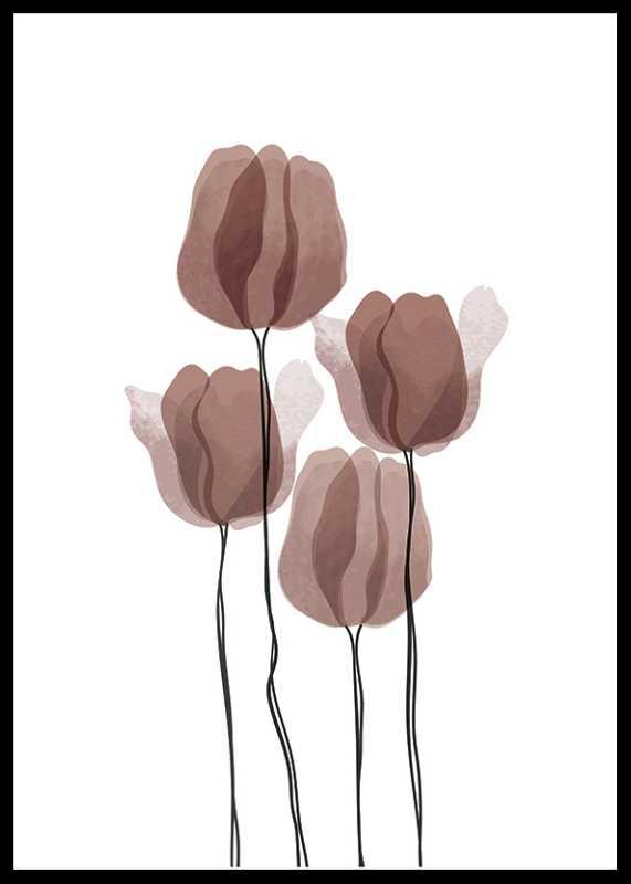 Watercolor Flowers No2-0