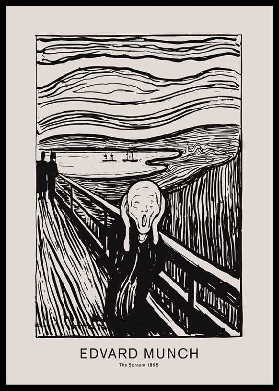 Edvard Munch Scream-0