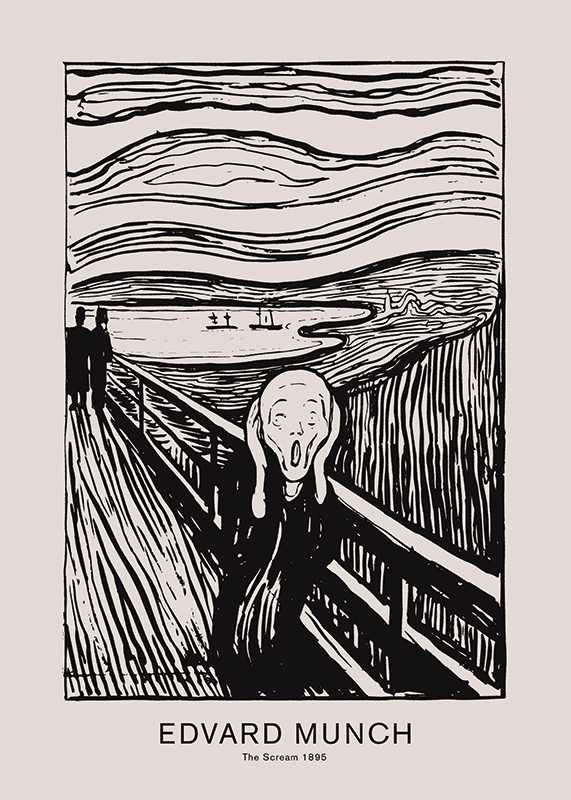 Edvard Munch Scream-1