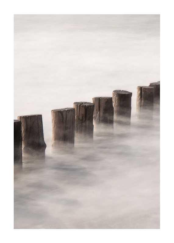 Piles In Fog-1