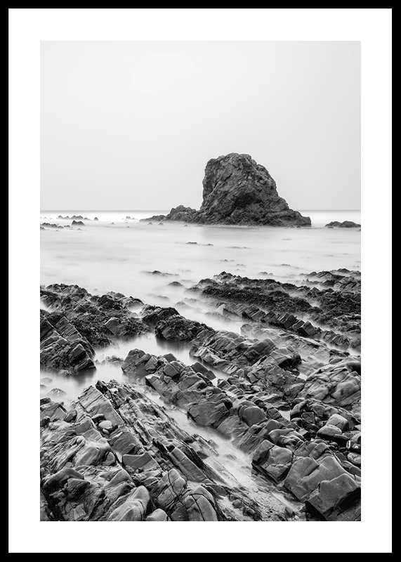 Sea Cliffs BW-0