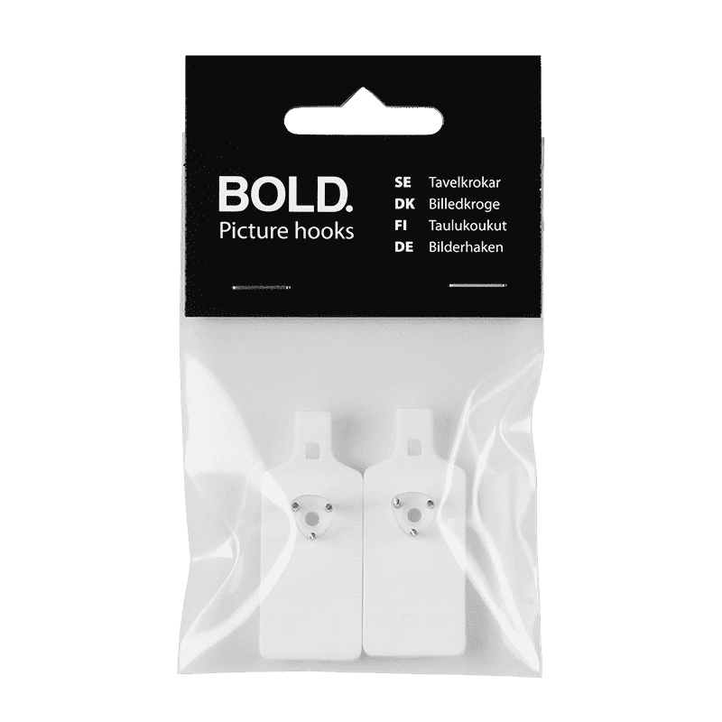 BOLD Tavelkrok 2-pack förpackning