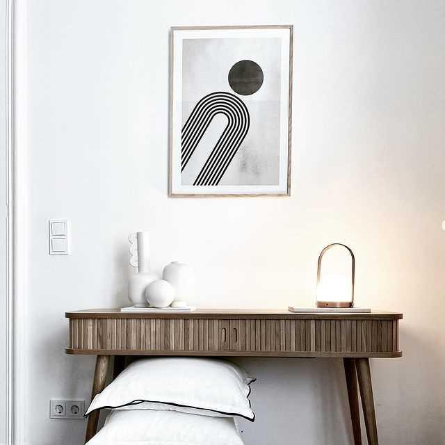 Matcha posters med möbler